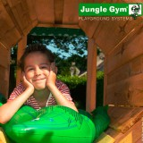 Игровой комплекс «Jungle Cottage + Train Module (паровоз) + Swing Module Xtra»