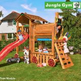 Игровой комплекс «Jungle Cottage + Train Module»