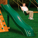 Горка Jungle Gym Extreme Wave Slide Green