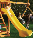 Горка Jungle Gym Super Scoop Slide Yellow