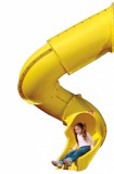 Горка Jungle Gym Super Tube Slide Yellow