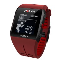POLAR V800 HR (red) спортивные GPS-часы