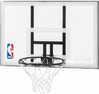 "Мобильная стойка Spalding NBA Silver 44"" Rectangle Acrylic"
