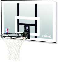 "Мобильная стойка Spalding NBA Silver 42"" Rectangle Acrylic"