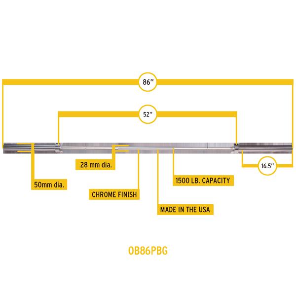 Инструкция Гриф Олимпийский Body-Solid Ob-86-30