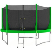Батут OptiFit Jump 8FT (зеленый)