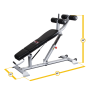 Скамья для пресса Body-Solid Pro Club SAB500