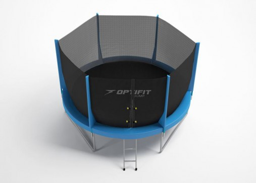 Батут OptiFit Jump 8FT (синий)