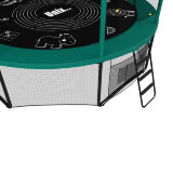 Батут UNIX line 10 ft (3,05 м) SUPREME GAME (green)