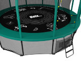 Батут UNIX line 12 ft (3.66 м) SUPREME GAME (green)