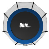 Батут UNIX line 8 ft outside (Blue)